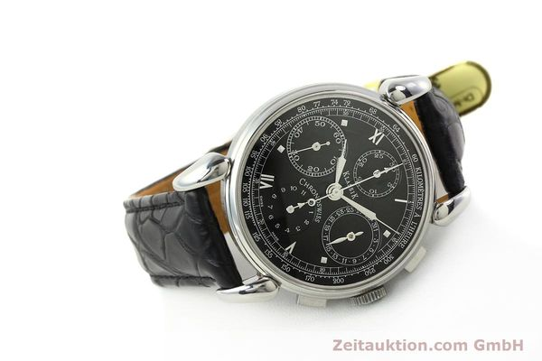 Used luxury watch Chronoswiss Klassik chronograph steel automatic Kal. 1391/ ETA 7750 Ref. CH7443  | 142914 03