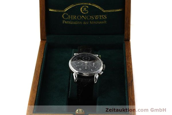 Used luxury watch Chronoswiss Klassik chronograph steel automatic Kal. 1391/ ETA 7750 Ref. CH7443  | 142914 07