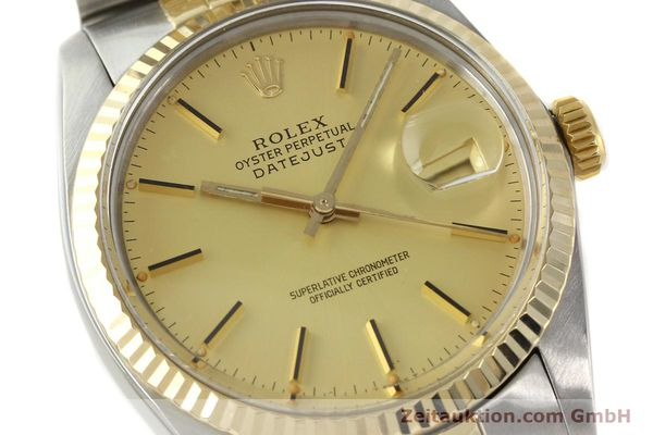 Used luxury watch Rolex Datejust steel / gold automatic Kal. 3035 Ref. 16013  | 142917 02