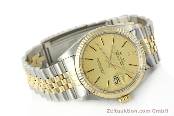 Used luxury watch Rolex Datejust steel / gold automatic Kal. 3035 Ref. 16013  | 142917 03