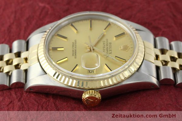 Used luxury watch Rolex Datejust steel / gold automatic Kal. 3035 Ref. 16013  | 142917 05