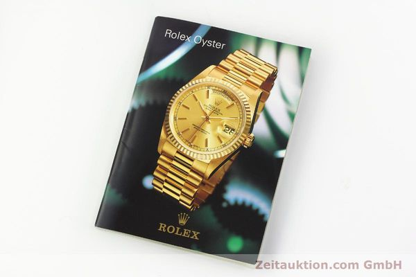 Used luxury watch Rolex Datejust steel / gold automatic Kal. 3035 Ref. 16013  | 142917 08