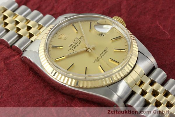Used luxury watch Rolex Datejust steel / gold automatic Kal. 3035 Ref. 16013  | 142917 16