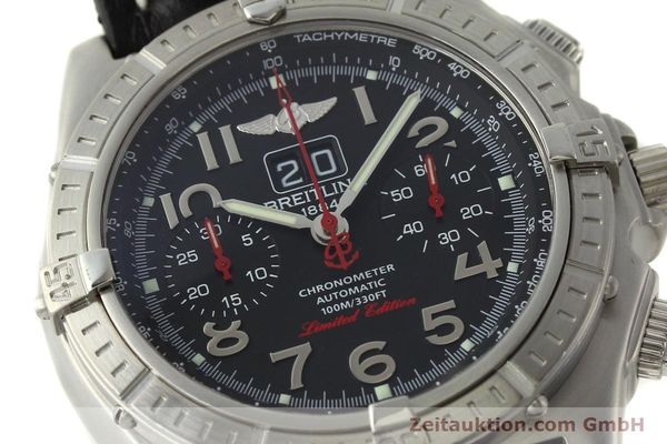 Used luxury watch Breitling Crosswind chronograph steel automatic Kal. B44 ETA 2892A2 Ref. A44355 LIMITED EDITION | 142919 02
