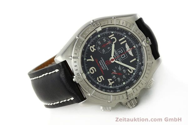 Used luxury watch Breitling Crosswind chronograph steel automatic Kal. B44 ETA 2892A2 Ref. A44355 LIMITED EDITION | 142919 03
