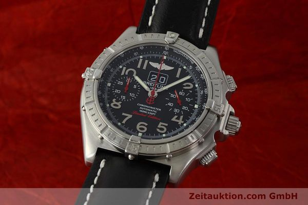 Used luxury watch Breitling Crosswind chronograph steel automatic Kal. B44 ETA 2892A2 Ref. A44355 LIMITED EDITION | 142919 04