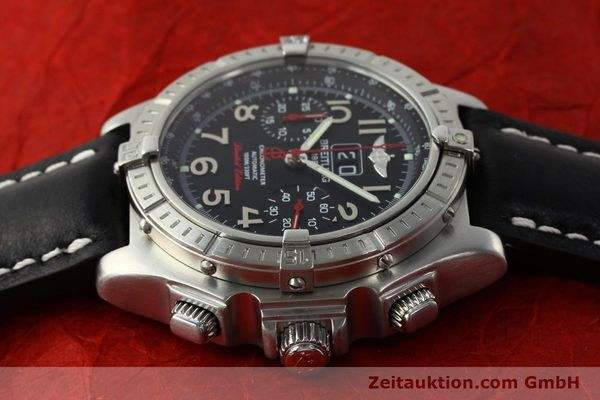 Used luxury watch Breitling Crosswind chronograph steel automatic Kal. B44 ETA 2892A2 Ref. A44355 LIMITED EDITION | 142919 05
