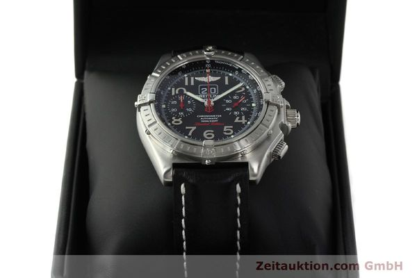 Used luxury watch Breitling Crosswind chronograph steel automatic Kal. B44 ETA 2892A2 Ref. A44355 LIMITED EDITION | 142919 07