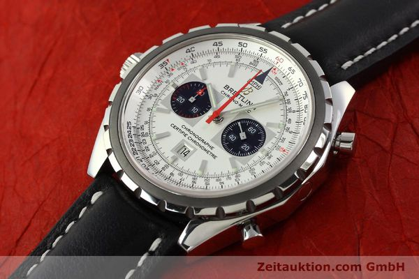 Used luxury watch Breitling Chrono-Matic chronograph steel automatic Kal. B41 ETA 2892A2 Ref. A41360  | 142922 01