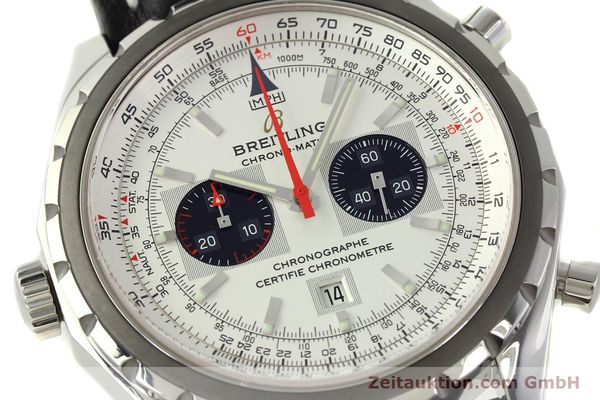 Used luxury watch Breitling Chrono-Matic chronograph steel automatic Kal. B41 ETA 2892A2 Ref. A41360  | 142922 02