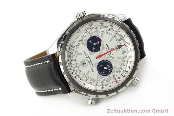 Used luxury watch Breitling Chrono-Matic chronograph steel automatic Kal. B41 ETA 2892A2 Ref. A41360  | 142922 03