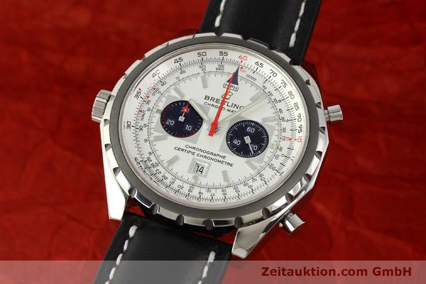 Used luxury watch Breitling Chrono-Matic chronograph steel automatic Kal. B41 ETA 2892A2 Ref. A41360  | 142922 04