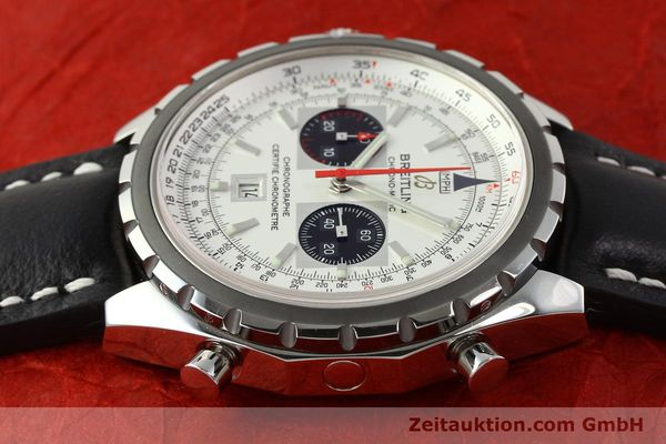 Used luxury watch Breitling Chrono-Matic chronograph steel automatic Kal. B41 ETA 2892A2 Ref. A41360  | 142922 05
