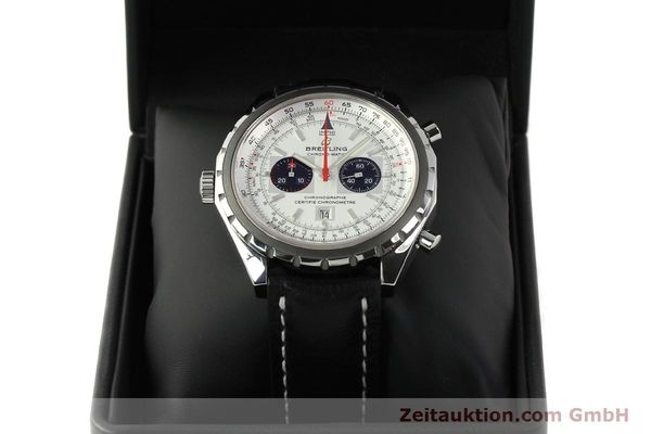 Used luxury watch Breitling Chrono-Matic chronograph steel automatic Kal. B41 ETA 2892A2 Ref. A41360  | 142922 07