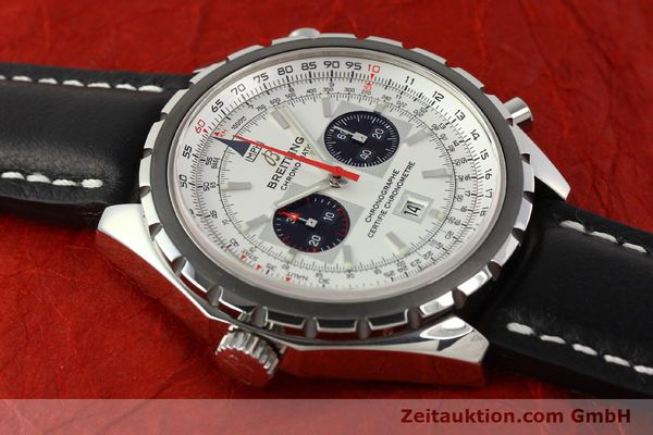 Used luxury watch Breitling Chrono-Matic chronograph steel automatic Kal. B41 ETA 2892A2 Ref. A41360  | 142922 13