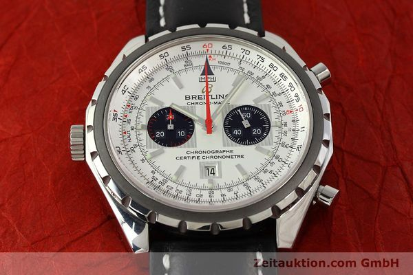 Used luxury watch Breitling Chrono-Matic chronograph steel automatic Kal. B41 ETA 2892A2 Ref. A41360  | 142922 14