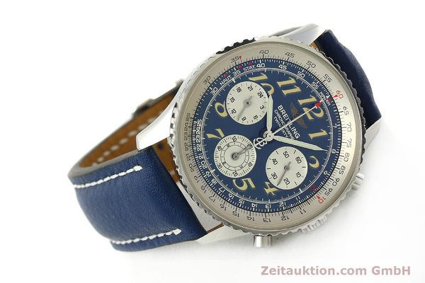 Used luxury watch Breitling Navitimer chronograph steel automatic Kal. B39 ETA 2892A2 Ref. A39022.1  | 142923 03