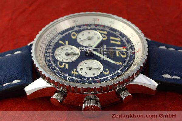 Used luxury watch Breitling Navitimer chronograph steel automatic Kal. B39 ETA 2892A2 Ref. A39022.1  | 142923 05