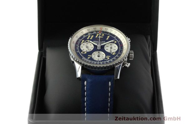 Used luxury watch Breitling Navitimer chronograph steel automatic Kal. B39 ETA 2892A2 Ref. A39022.1  | 142923 07