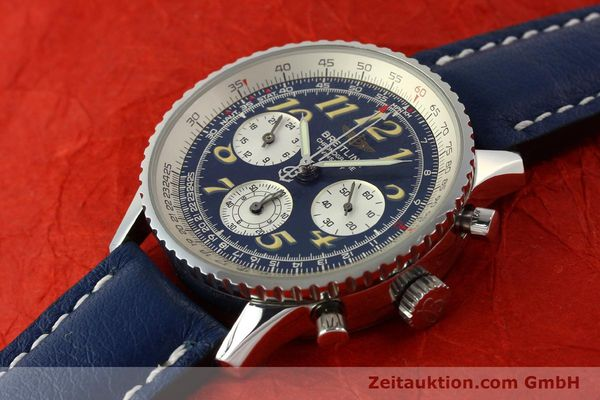 Used luxury watch Breitling Navitimer chronograph steel automatic Kal. B39 ETA 2892A2 Ref. A39022.1  | 142924 01