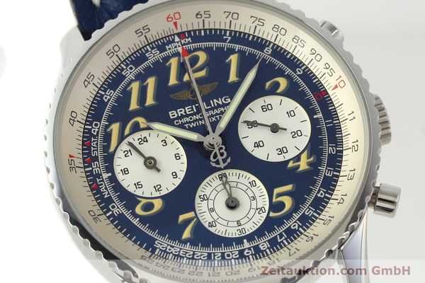 Used luxury watch Breitling Navitimer chronograph steel automatic Kal. B39 ETA 2892A2 Ref. A39022.1  | 142924 02