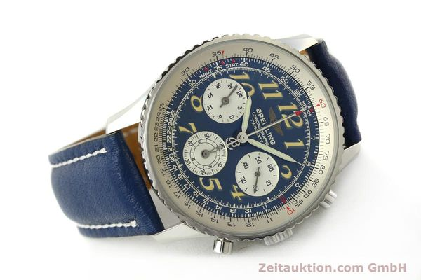 Used luxury watch Breitling Navitimer chronograph steel automatic Kal. B39 ETA 2892A2 Ref. A39022.1  | 142924 03