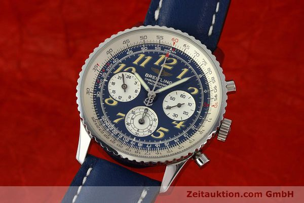 Used luxury watch Breitling Navitimer chronograph steel automatic Kal. B39 ETA 2892A2 Ref. A39022.1  | 142924 04