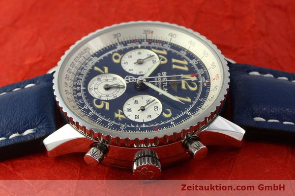 Used luxury watch Breitling Navitimer chronograph steel automatic Kal. B39 ETA 2892A2 Ref. A39022.1  | 142924 05