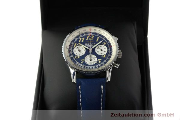 Used luxury watch Breitling Navitimer chronograph steel automatic Kal. B39 ETA 2892A2 Ref. A39022.1  | 142924 07