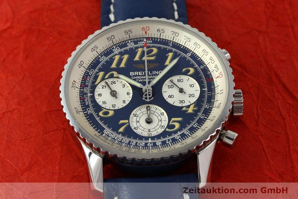 Used luxury watch Breitling Navitimer chronograph steel automatic Kal. B39 ETA 2892A2 Ref. A39022.1  | 142924 15