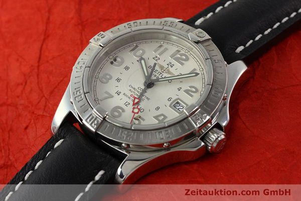 Used luxury watch Breitling Colt GMT steel automatic Kal. B32 ETA 2893-2 Ref. A32350  | 142927 01