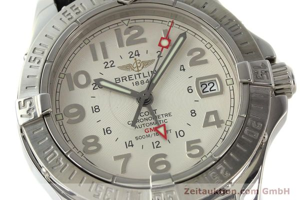 Used luxury watch Breitling Colt GMT steel automatic Kal. B32 ETA 2893-2 Ref. A32350  | 142927 02