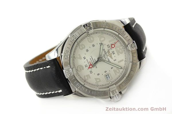 Used luxury watch Breitling Colt GMT steel automatic Kal. B32 ETA 2893-2 Ref. A32350  | 142927 03