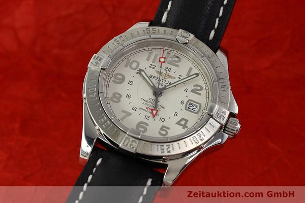 Used luxury watch Breitling Colt GMT steel automatic Kal. B32 ETA 2893-2 Ref. A32350  | 142927 04