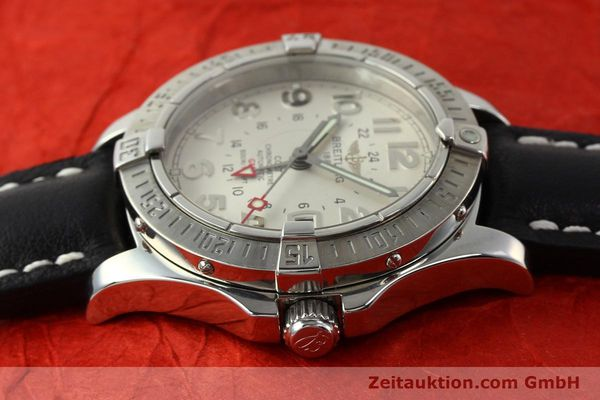 Used luxury watch Breitling Colt GMT steel automatic Kal. B32 ETA 2893-2 Ref. A32350  | 142927 05