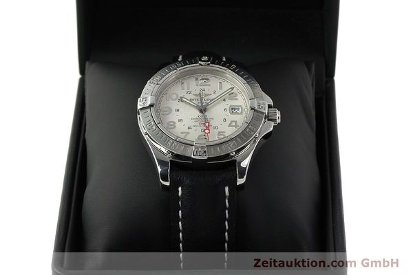 Used luxury watch Breitling Colt GMT steel automatic Kal. B32 ETA 2893-2 Ref. A32350  | 142927 07