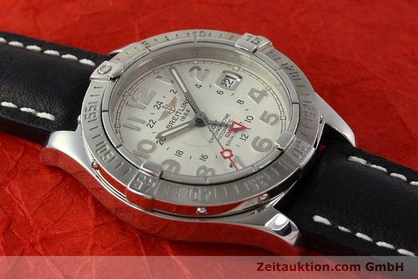 Used luxury watch Breitling Colt GMT steel automatic Kal. B32 ETA 2893-2 Ref. A32350  | 142927 16
