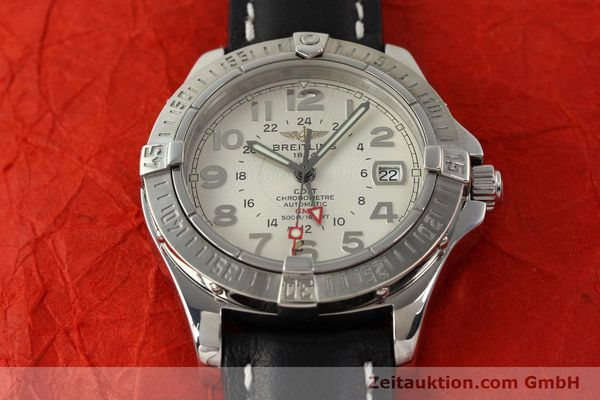 Used luxury watch Breitling Colt GMT steel automatic Kal. B32 ETA 2893-2 Ref. A32350  | 142927 17
