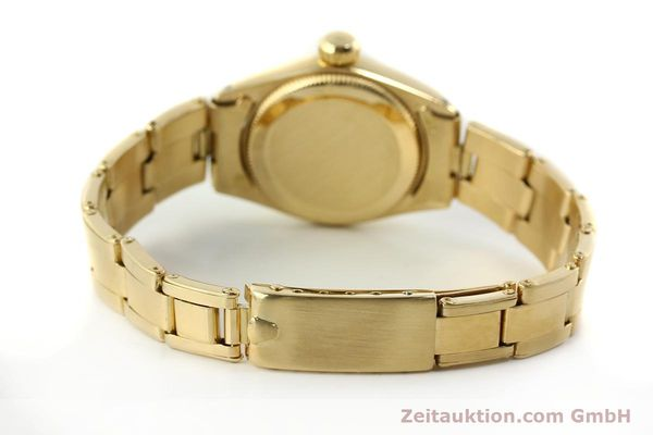 Used luxury watch Rolex Oyster Perpetual 18 ct gold automatic Kal. 2030 Ref. 6718  | 142929 12