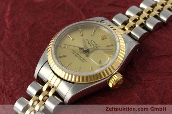 Used luxury watch Rolex Lady Datejust steel / gold automatic Kal. 2135  | 142931 01