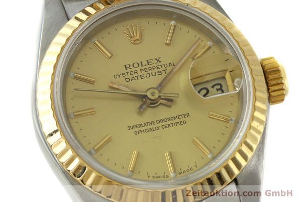 Used luxury watch Rolex Lady Datejust steel / gold automatic Kal. 2135  | 142931 02