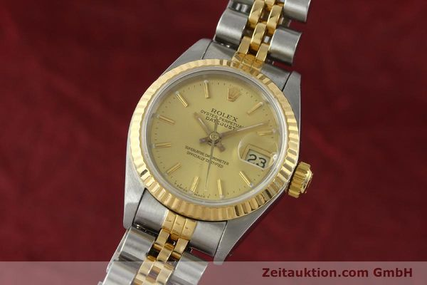 Used luxury watch Rolex Lady Datejust steel / gold automatic Kal. 2135  | 142931 04
