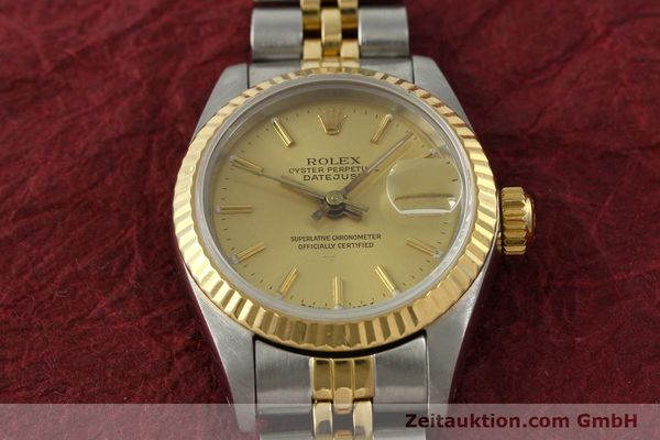 Used luxury watch Rolex Lady Datejust steel / gold automatic Kal. 2135  | 142931 16