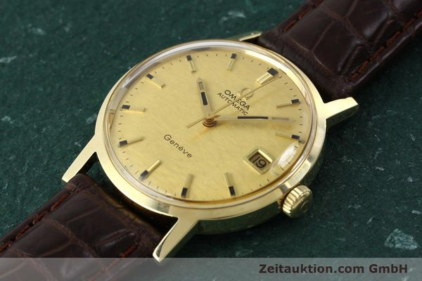 Used luxury watch Omega * 14 ct yellow gold automatic Kal. 565  | 142932 01