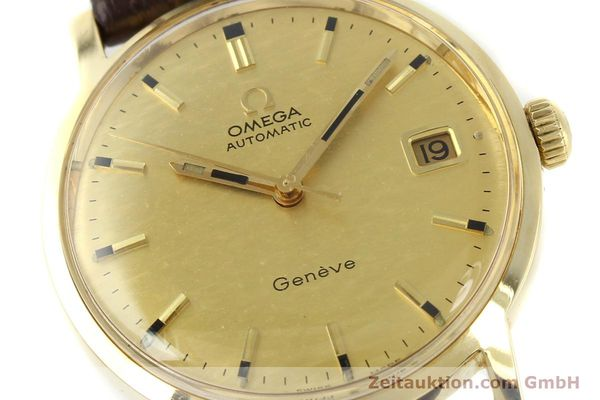 Used luxury watch Omega * 14 ct yellow gold automatic Kal. 565  | 142932 02