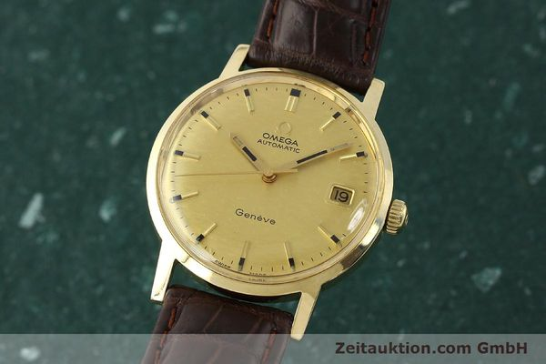 Used luxury watch Omega * 14 ct yellow gold automatic Kal. 565  | 142932 04