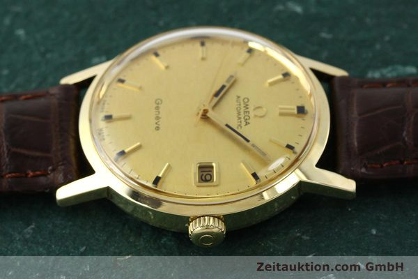 Used luxury watch Omega * 14 ct yellow gold automatic Kal. 565  | 142932 05
