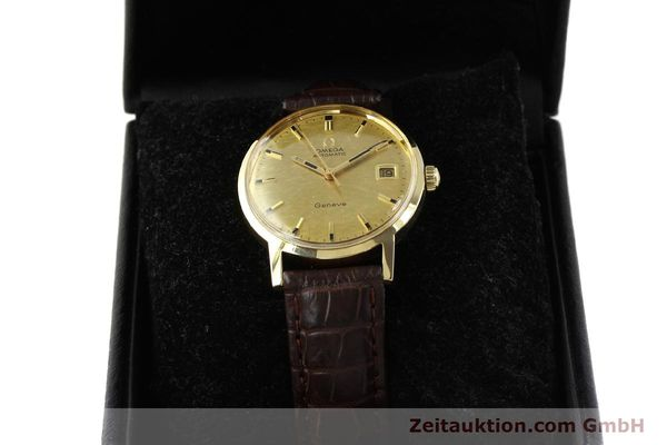 Used luxury watch Omega * 14 ct yellow gold automatic Kal. 565  | 142932 07