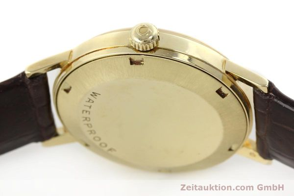Used luxury watch Omega * 14 ct yellow gold automatic Kal. 565  | 142932 11