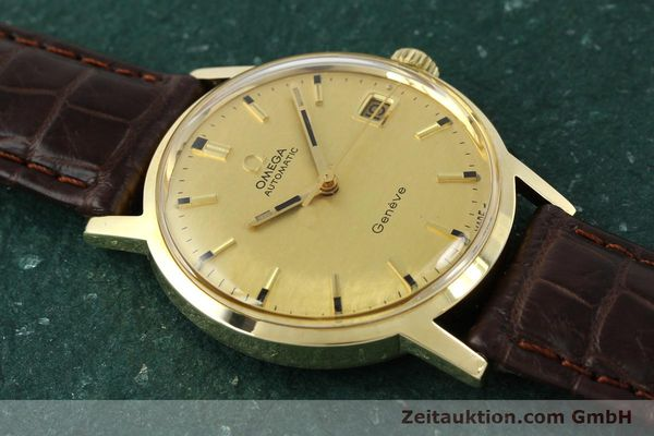 Used luxury watch Omega * 14 ct yellow gold automatic Kal. 565  | 142932 13